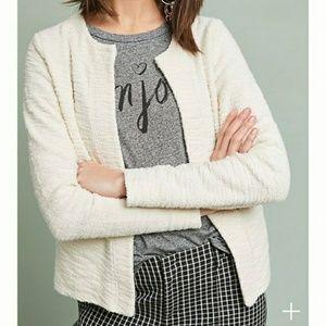 Anthropologie T.La knit blazer